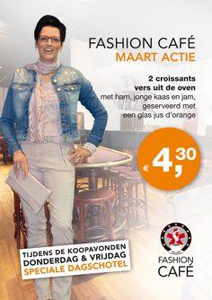 Maand actie maart 2014 #Koopmanmode #Fashioncafe