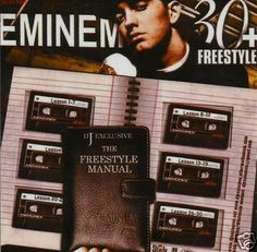 """The Freestyle Manual"" Eminem Hip Hop OFFICIAL Mixtape CD"
