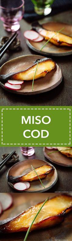 Miso Cod (Black Cod with Miso) 銀ダラの西京焼き | Easy Japanese Recipes at JustOneCookbook.com