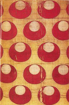Silk with Crescent motif. Turkish Ottoman. 16th century. Musée Historique des Tissus, Lyon