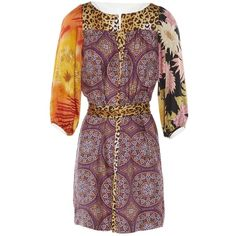 Pre-owned Tracy Feith Silk Mid-Length Dress ($97) ❤ liked on Polyvore featuring dresses, multicolour, women clothing dresses, silk cocktail dress, tracy feith, multicolored dress, tracy feith dress and silk dress