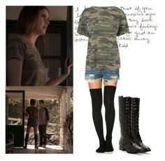 """Malia Tate - teen wolf / tw"" by shadyannon ❤ liked on Polyvore featuring rag & bone and Topshop"