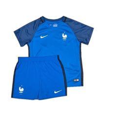 Camisetas del Francia para Niños Home 2016