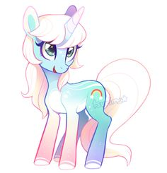 MLP Adoptable Auction - chroma flash (CLOSED) by tsurime on DeviantArt