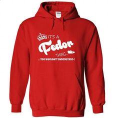 Its a Fedor Thing, You Wouldnt Understand !! Name, Hood - shirt dress #dress shirts #designer t shirts