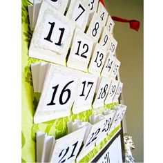 Giving Activities Advent Calendar -so much better than chocolates.