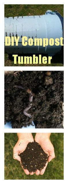 How to make a really inexpensive compost tumbler