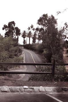 mysterious road, Riverside, CA