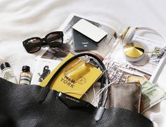 The basic tips and tricks for packing a carry on bag. Visit http://styleselection.tumblr.com/post/124648197158/the-travel-necessities to view the post.
