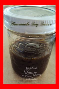 """Homemade """"soy"""" sauce THIS IS AWESOME.....the 30% less sodium soy sauce I have right now in the fridge has 880mg sodium per tbsp....which works out to 293.333333333 mg per tsp. It is without soy. Therefore it will not taste exactly the same. It is very tasty though. Easy to try and if not liked, toss it. I LOVE IT!!!!"""