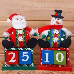 Santa Snowman Gift decorative boxes Christmas Decor Home Ornament / diameter Home Decoration $26.2