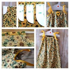 How to Make the Best Dress from Pillow Case Carol Tupper Carol Tupper Last week, we shared how to us Toddler Dress Patterns, Summer Dress Patterns, Girl Dress Patterns, Skirt Patterns, Blouse Patterns, Coat Patterns, Toddler Summer Dresses, Little Girl Dresses, Sewing Kids Clothes