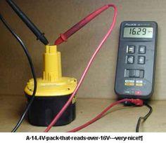 Astromart Articles - Rebuilding NiCd Rechargable Battery Packs