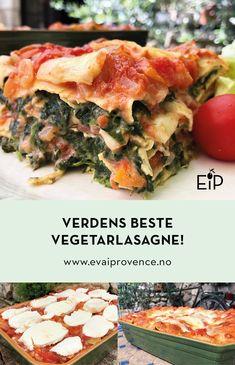 Spanakopita, Mozzarella, Mad, Food Porn, Food And Drink, Veggies, Ethnic Recipes, Spinach, Vegetables