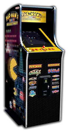 Pac-Man's Arcade Party Home Cabaret Cabinet