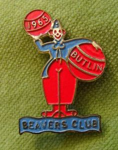 A Genuine 1965 Butlins Metal Beavers Club Pin Badge 2 across the base The item is in a good general condition and bears the manufacturer name on Butlins Holidays, Metal Buttons, Pin Badges, Perfume Bottles, Beavers, Club, Camps, Seaside, Base
