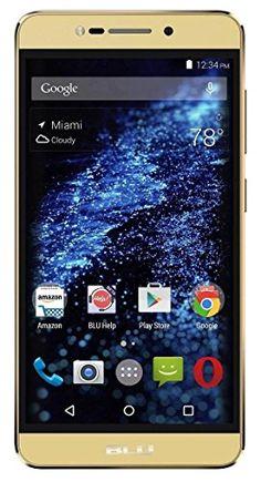 "Cool BLU Studio C HD S090Q 8GB Unlocked GSM 5"" Quad-Core Smartphone w/ 8MP Camera - Gold (Certified Refurbished)  2017/18"