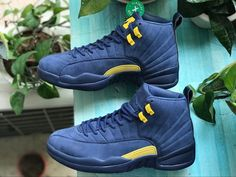 sneakers for cheap c348b 3cc49 Air Jordan 12 Michigan PSNY BQ3180-407 For Sale