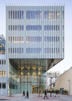 Gallery - Hachette Livre Headquarters / Jacques Ferrier Architectures - 11
