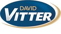 Logo for David Vitter for Louisiana. Visit the Harris Media website for more examples of our work in web and graphic design for political campaigns: http://www.harrismediallc.com