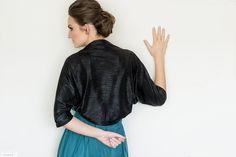 Black plus size evening dress shawl. Elegant look! See it on: weddinghttp://www.etsy.com/shop/Sheeebz