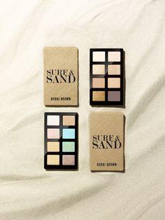 Bobbi Brown Surf + Sand Collection eye palettes. Yum.