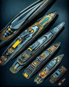 Yacht Design, Boat Design, Super Yachts, Yachting Club, Yatch Boat, Bateau Yacht, Yacht World, Naval, Bugatti