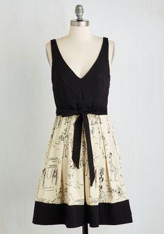 Marseilles Memories Dress