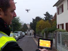 Eaubonne : ce drone va détecter les fuites de chaleur de vos maisons