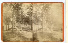 Stereoview or Moreland Park, Atlanta by Edwards & Dorman, Gallery of Photographic Art, No. 56 1/2 Whitehall St., Atlanta, Ga. From the J. Fred Rodriguez Atlanta Collection.