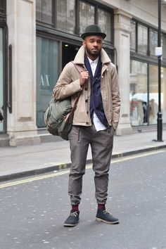dark grey pants   #fashion #streetstyle   http://lkl.st/1snNxTw   See more on https://www.lookli.st #Looklist