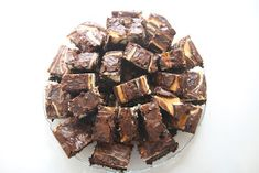 It's been a crazy month so I have a few recipes that I haven't had a chance to post yet. One is cream cheese swirl brownies. I made these fo. Ghirardelli Brownie Mix Recipe, Brownie Mix Recipes, Chocolate Recipes, Cream Cheese Brownies, No Bake Desserts, Live Happy, Candy, Cookies, Baking