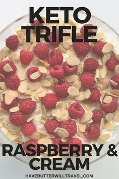 Trifle is a must have on many dessert tables on Christmas Day and your family and friends will absolutely love this keto trifle filled with raspberries Low Carb Appetizers, Low Carb Desserts, Low Carb Recipes, Dessert Recipes, Vegetarian Recipes, Healthy Recipes, Brownie Recipes, Recipes Dinner, Dessert Ideas