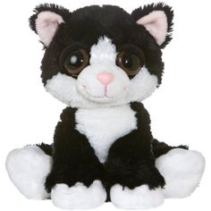 """Aurora Plush 10"""" Dreamy Eyes Cat """"Clarence"""" *** Details can be found by clicking on the image. (This is an affiliate link) #StuffedAnimalsPlushToys"""