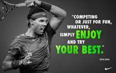 Rafael Nadal Quotes, Sayings & Images Motivational Inspirational Lines, Rafael nadal quotes on tennis federer life love success education work training Rafael Nadal, Tennis Match, Play Tennis, Tennis Clubs, Tennis Players, Roger Federer Quotes, Tennis Federer, Nike Tenis, Tennis Videos
