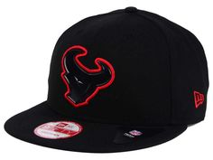 huge discount 05ad4 eec83 Houston Texans New Era NFL Black Bevel 9FIFTY Snapback Cap