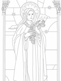 Saints, Blesseds, and Clergy FREE Coloring Pages....