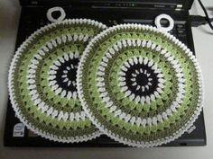 Retropatalappu - Käsistä karannut - Vuodatus.net Crafts To Do, Arts And Crafts, Doilies, Pot Holders, Knit Crochet, Crochet Patterns, Blanket, Sewing, Knitting