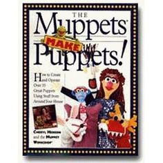 for Emily! A book on making puppets out of everyday things!