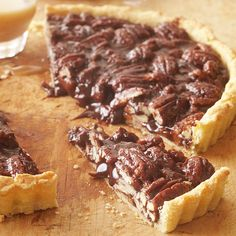 Butterscotch-Pecan Tart from the Better Homes and Gardens Must-Have Recipes App