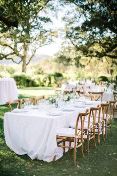 La Tavola Fine Linen Rental: Tuscany White | Photography: The Edges Wedding Photography, Event Planning & Design: Vibrant Events, Floral Design: La Fleuriste