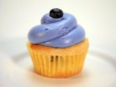 Cupcake wars blueberry lemon cupcake.. I've done this recipe many many times.. always a huge hit. I like to add zest on the top for a cute decoration