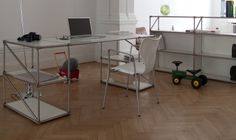 Working I Office I Home I Interior I Furniture I Design Made in Berlin I Schreibtisch Easy Pure by System 180