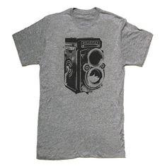 Fab.com | Skip N' Whistle: Camera Tee Men's Gray, at 22% off!