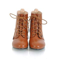 short boots for women | Women Shoes // Boots // Short Boots // Wedge Strappy Women Short Boots ...