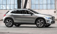Mercedes-Benz GLA SUV concept Shanghai motor show  Photo by: Mercedes-Benz