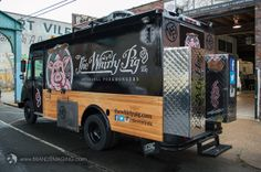 The Whirly Pig food truck, Philadelphia
