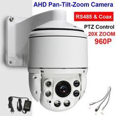 "Cctv 4 ""MINI MAAT High Speed Ptz-camera AHD Analoge 2-in-1 960 P 1.3MP 20X Zoom Auto Focus IR 100 M Coaxiale Ptz-besturing"