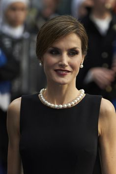 Pin for Later: Prepare to Swoon Over Queen Letizia of Spain's Gorgeous Ombré Dress