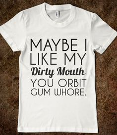Hahaha!! Truth. :) and YES I do happen to have a tshirt problem. Kathleen understands me, that's all that counts.